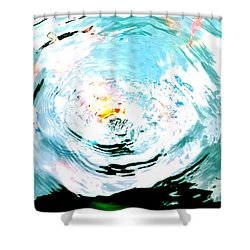 Shower Curtain featuring the photograph Ripple by Jennah Lenae