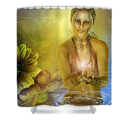 Ripple Of Nature Shower Curtain