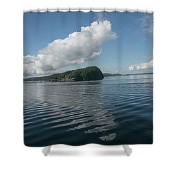 Shower Curtain featuring the photograph Ripples by Elvira Butler