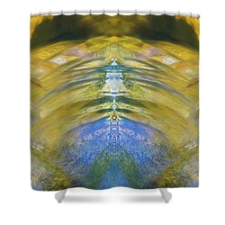 Ripples Of Bell Rocks Shower Curtain