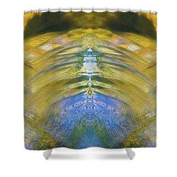 Ripples Of Bell Rocks Shower Curtain