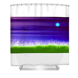 Rise Above Shower Curtain by Holly Kempe