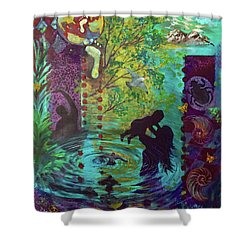 Rise Again Shower Curtain