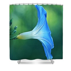 Shower Curtain featuring the photograph Rise And Shine by Byron Varvarigos