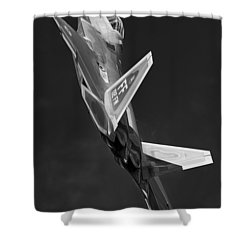 Rise Of The Silver Surfer Shower Curtain