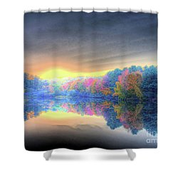 Rise Today Shower Curtain