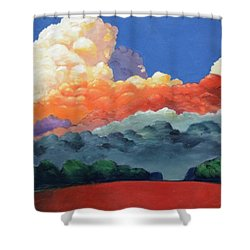 Rising High Shower Curtain