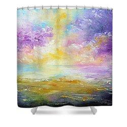 Rising Joy Shower Curtain