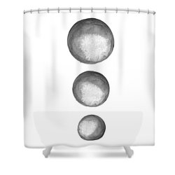 Rising Moons Shower Curtain