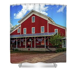 Rising Star Mill Shower Curtain