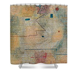 Rising Star  Shower Curtain by Paul Klee