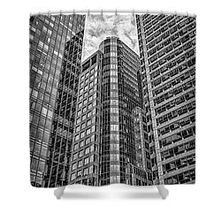 Rising Structures Shower Curtain by Scott Wyatt