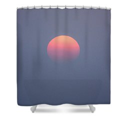 Shower Curtain featuring the photograph Rising Sun by Davorin Mance