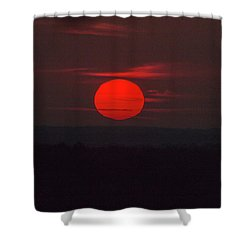 Rising Sun In Texas Shower Curtain