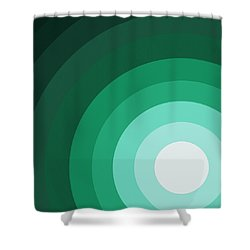 Rist Action Shower Curtain by Oliver Johnston