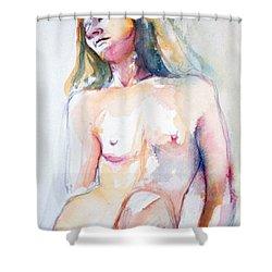 Rita #7 Shower Curtain