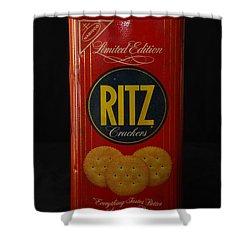 Ritz Crackers Shower Curtain