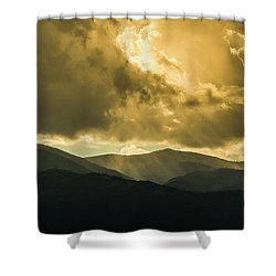 Ruidoso Rays Shower Curtain