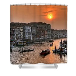 Riva Del Ferro. Venezia Shower Curtain