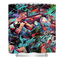 Rivals- Large Work Shower Curtain