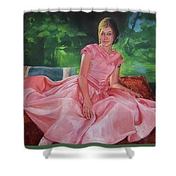 River Belle Shower Curtain