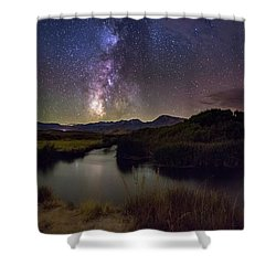 River Bend Shower Curtain