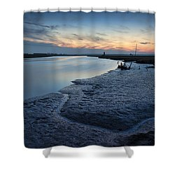 River Blyth Shower Curtain