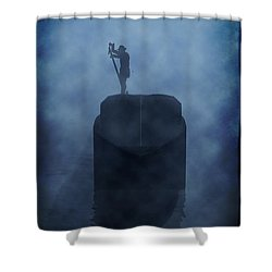 River Cargo... Shower Curtain