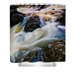 River Dance Shower Curtain