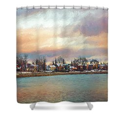 River Dream Shower Curtain