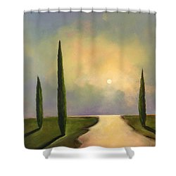 River Dreams Shower Curtain by Toni Grote