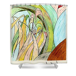 River Grass Shower Curtain