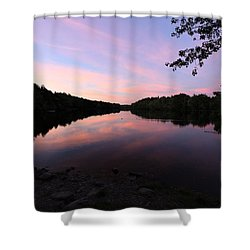 River Harmony  Shower Curtain