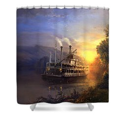 River King Shower Curtain