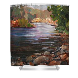 River Light Shower Curtain
