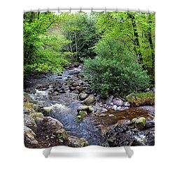 River Mahon Waterford Ireland..jpg Shower Curtain