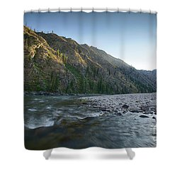 River Of No Return Shower Curtain by Idaho Scenic Images Linda Lantzy