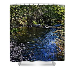 River Of Peace Shower Curtain