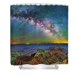 River Of Stars Shower Curtain