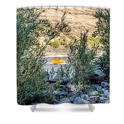 River Peek Shower Curtain
