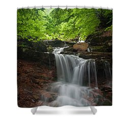 River Rapid Shower Curtain