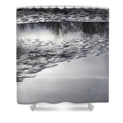 River Reflections Shower Curtain by Michele Cornelius