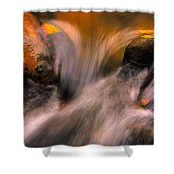 River Rocks, Zion National Park Shower Curtain