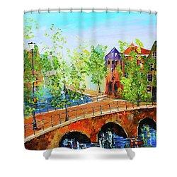River Runs Through It Shower Curtain