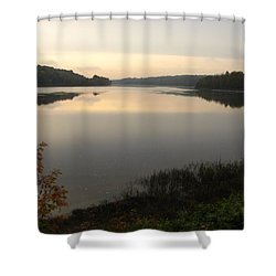 River Solitude Shower Curtain