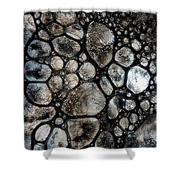 River Stone 14 Shower Curtain