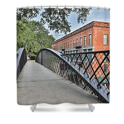 River Street Connection Shower Curtain