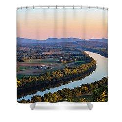 Connecticut River View  Shower Curtain