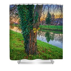River Nitra Shower Curtain