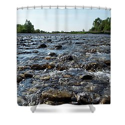 River Walk Shower Curtain
